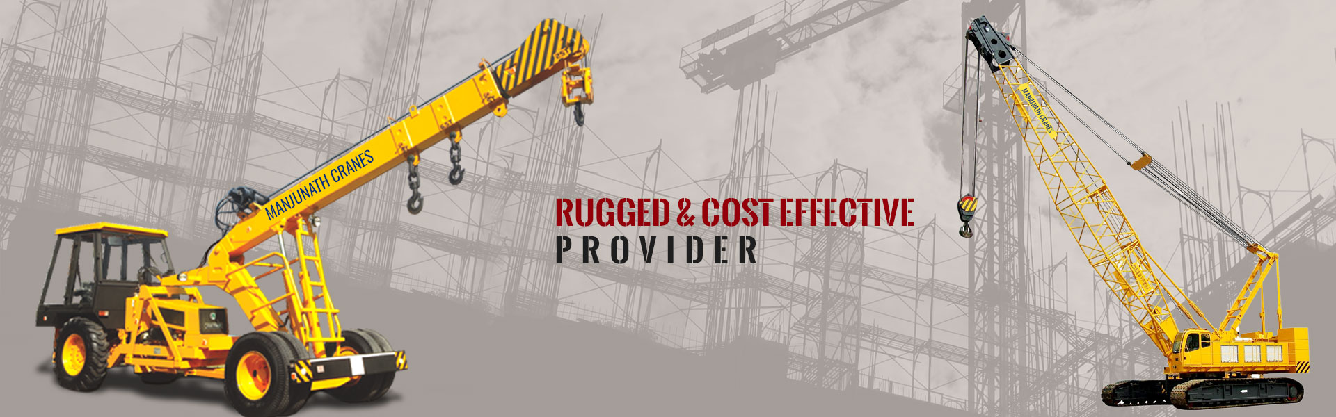 Cranes and Forklift on Hire in Mangalore